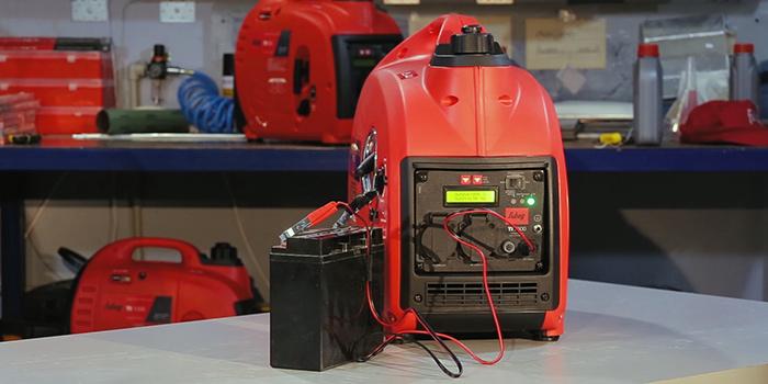 зарядка аккумулятора инверторным генератором fubag