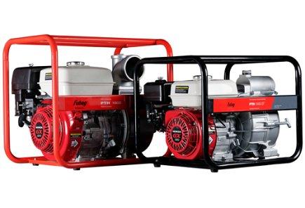Бензиновые мотопомпы PTH с двигателем Honda